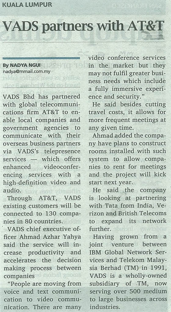 VADS partners with AT&T