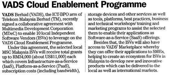 VADS Cloud Enablement Programme
