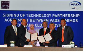 Vads Becomes The 1st Malaysian Cloud Provider to Collaborate with Mimos for Cloud Services