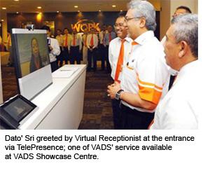 Dato' Sri Zam Isa Officially Opens VADS Showcase Centre